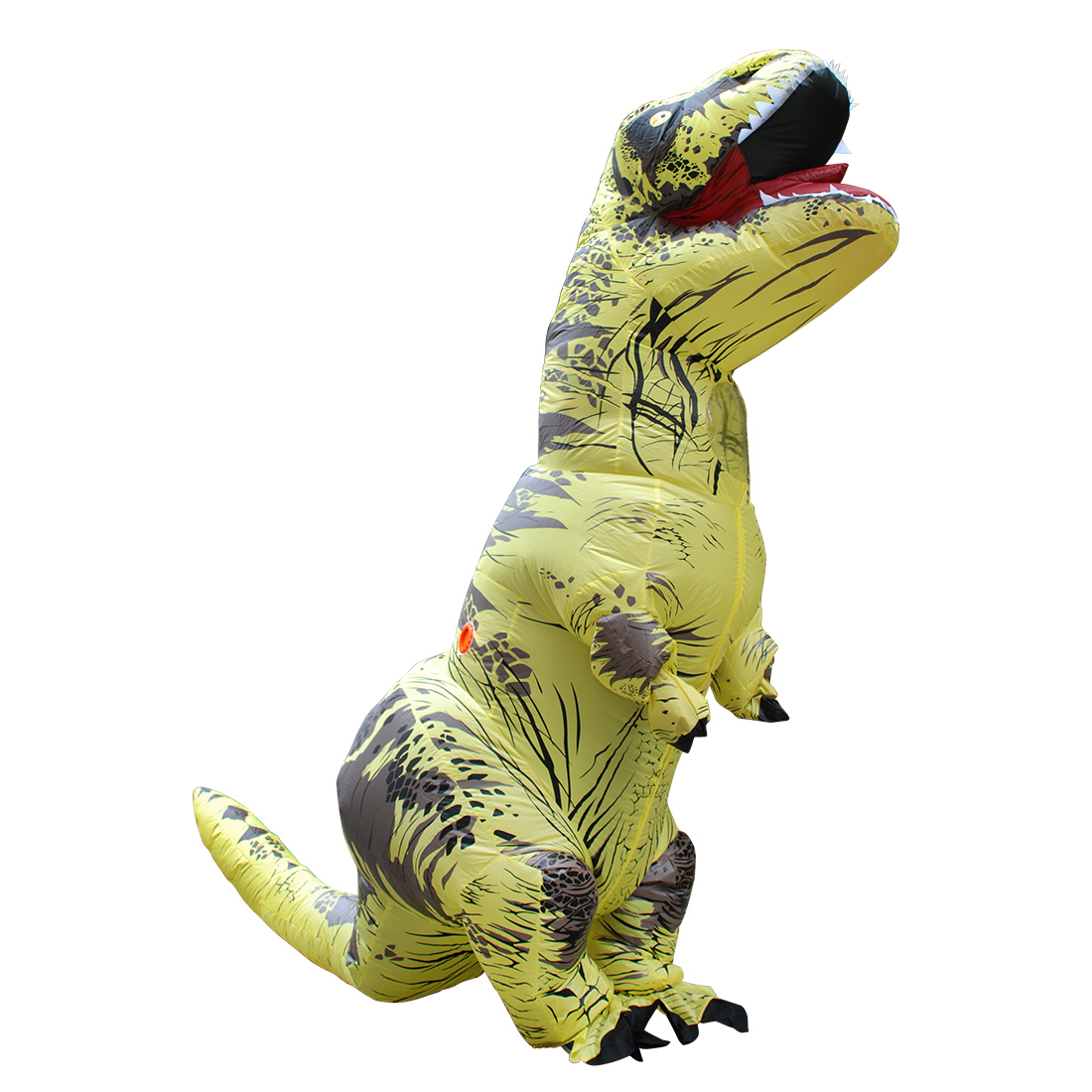 DANXEN Adult Yellow Polyester T-REX INFLATABLE Dinosaur Costumes