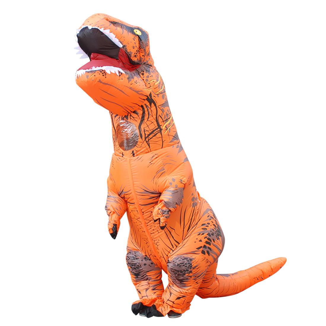 DANXEN Orange T-REX Costumes Inflatable Dinosaur Costume Tyrannosaurus
