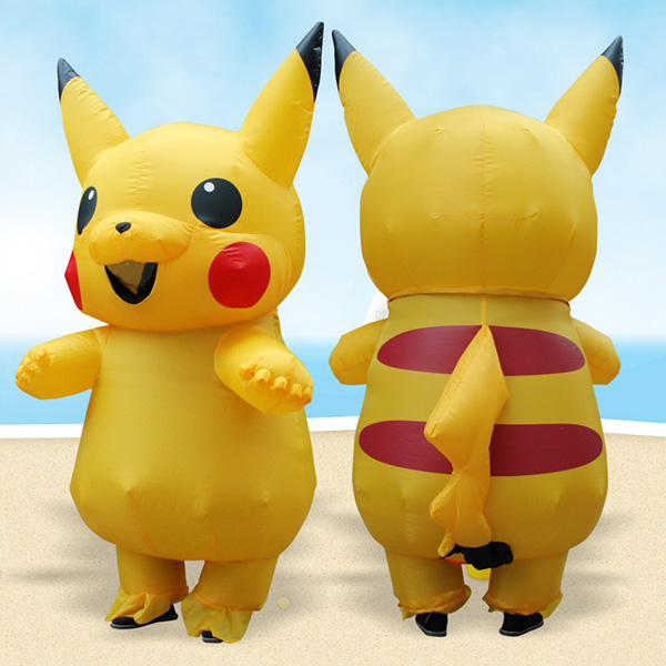 DANXEN Adult Inflatable Pokemon Pikachu Costume