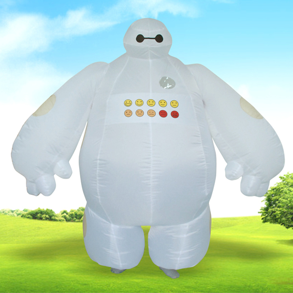 DANXEN Adult Inflatable Big Hero 6 Baymax Costume
