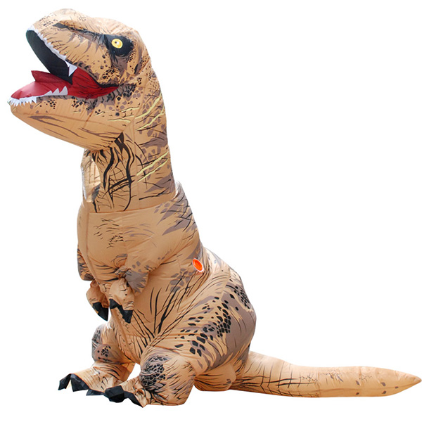 DANXEN Adult Inflatable T-REX Baymax Costume