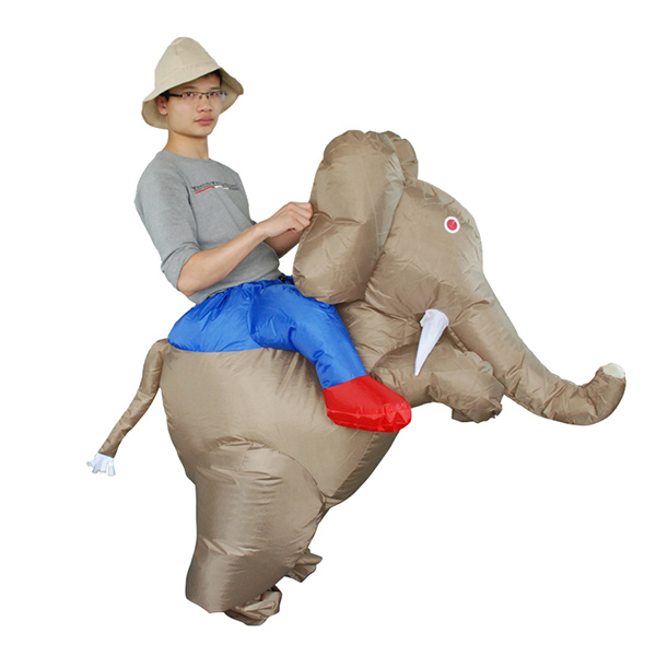 DANXEN Adult Inflatable Elephant Costume