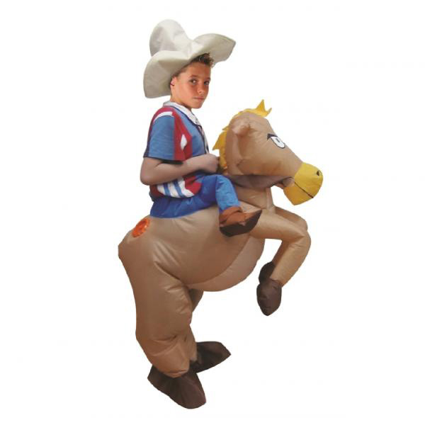 DANXEN Kids Inflatable Cowboy Costume Children