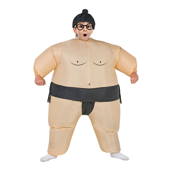 DANXEN Kids Inflatable Sumo Costume Children