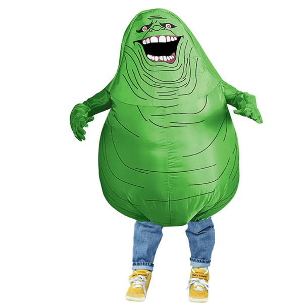 DANXEN Kids Inflatable Green Ghost Costume Children