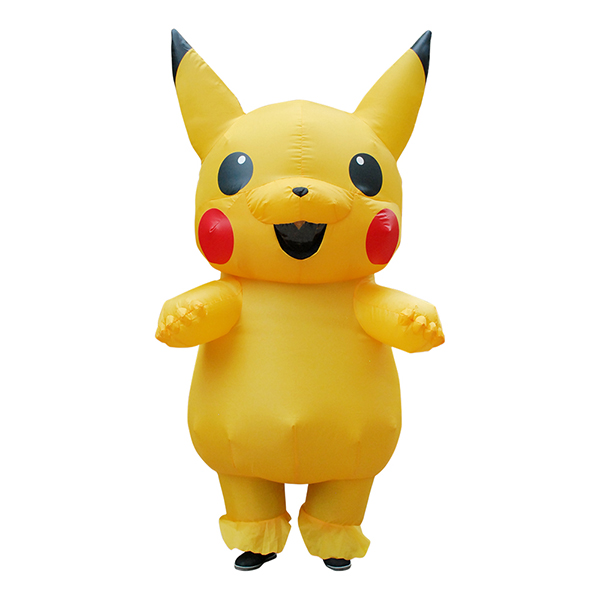 DANXEN Kids Inflatable Pikachu Costume Children