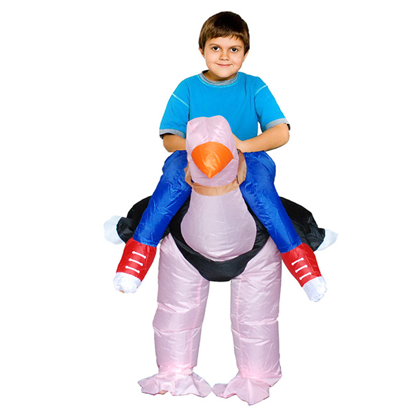 DANXEN Kids Inflatable Ostrich Costume Children